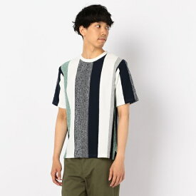 パネルストライプTシャツ/フレディ&グロスター メンズ(FREDY&GLOSTER)