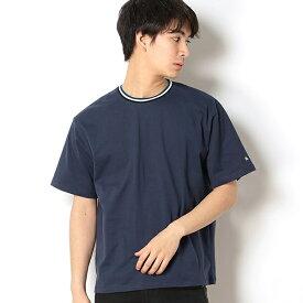 【店舗限定】カラーラインリブ使いクルーネックTシャツ(Men's)/アーノルドパーマー タイムレス(メンズ)(arnold palmer timeless)