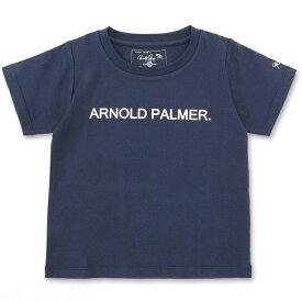 【店舗限定】キッズレイヤーカラーロゴクルーネックTシャツ/アーノルドパーマー タイムレス(キッズ)(arnold palmer timeless)