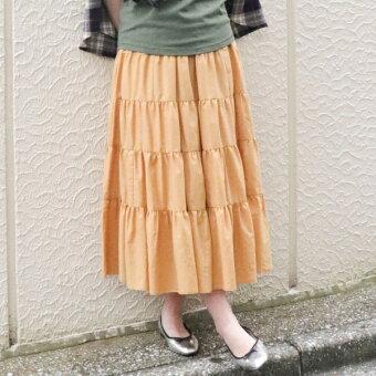 ティアードロングスカート/コムサマチュア(CommecaMature)