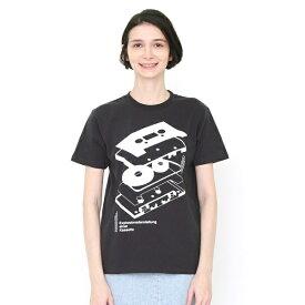 【ユニセックス】Tシャツ/エクスプローデッドカセットテープ/グラニフ(graniph)