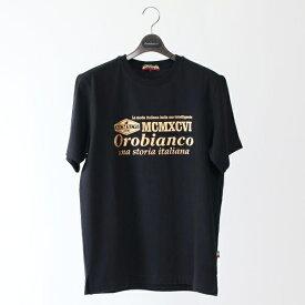 リネアロゴ半袖Tシャツ/オロビアンコ(カジュアル)(Orobianco)