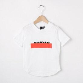 【110-160cm】adidas シャドーロゴTシャツ(一部店舗・WEB限定)/ハッシュアッシュ(キッズ)(HusHusH Kids)