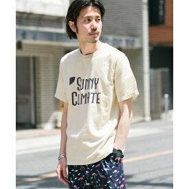 メンズTシャツ(ロゴプリントピグメントTシャツ)/アーバンリサーチ サニーレーベル(メンズ)(URBAN RESEARCH Sonny Label)