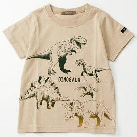nico hrat/ニコフラート 恐竜 Tシャツ/A BAG OF CHIPS(A BAG OF CHIPS)
