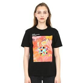 【ユニセックス】コラボレーションTシャツ/ぞうのエルマーインザウッズ(ぞうのエルマー)/グラニフ(graniph)