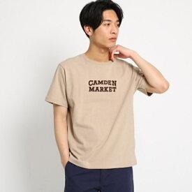 ロゴプリント半袖Tシャツ/ザ ショップ ティーケー(メンズ)(THE SHOP TK Mens)