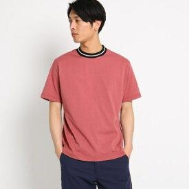 ラインリブTシャツ/ザ ショップ ティーケー(メンズ)(THE SHOP TK Mens)
