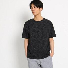ボタニカル総柄Tシャツ/ザ ショップ ティーケー(メンズ)(THE SHOP TK Mens)