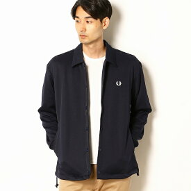 【19AW】TRACK COACH JACKET/フレッドペリー(メンズ)(FRED PERRY)