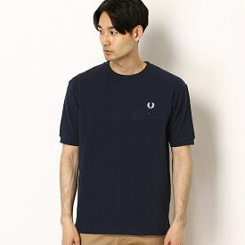 【19AW】PIQUE T-SHIRT/フレッドペリー(メンズ)(FRED PERRY)