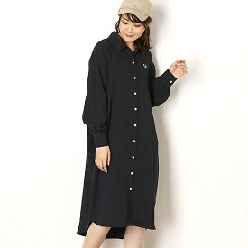 【19AW】WOVEN SHIRT DRESS/フレッドペリー(レディス)(FRED PERRY)