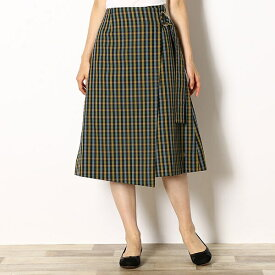 【19AW】WRAPPED SKIRT/フレッドペリー(レディス)(FRED PERRY)