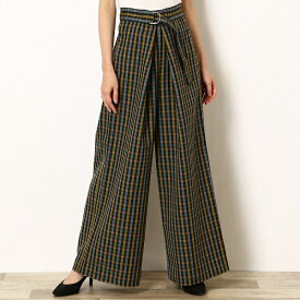 【19AW】WIDE TROUSERS/フレッドペリー(レディス)(FRED PERRY)