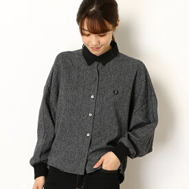 【19AW】DOLMAN SLEEVE WOVEN/フレッドペリー(レディス)(FRED PERRY)