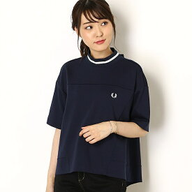 【19AW】PANELLED TOPS/フレッドペリー(レディス)(FRED PERRY)