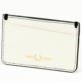 CONTRAST INTERNAL LEATHER CARD HOLDER/フレッドペリー(雑貨)(FRED PERRY)