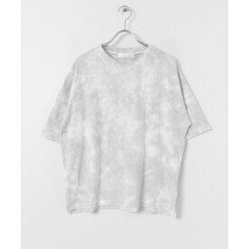 レディスカットソー(タイダイTシャツ(5分袖))/センスオブプレイスバイアーバンリサーチ(レディース)(SENSE OF PLACE)