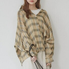 BIGチェックシャツ/アンレリッシュ(UNRELISH)