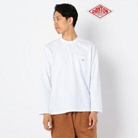 【DANTON/ダントン】ポケット付きロンT #JD−9077/フレディ&グロスター メンズ(FREDY&GLOSTER)