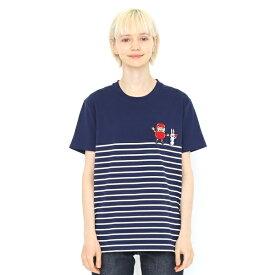 【ユニセックス】コラボレーションTシャツ/だるまちゃんとうさぎちゃん(かこさとし)/グラニフ(graniph)