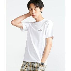 コンバースワンポイントシューズ刺繍Tシャツ/ウィゴー(メンズ)(WEGO)