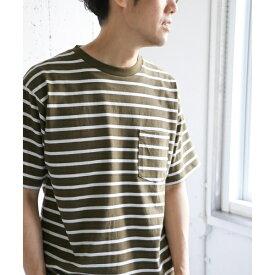 メンズTシャツ(ウルティマサンドイッチボーダーTシャツ)/アーバンリサーチ ドアーズ(メンズ)(URBAN RESEARCH DOORS)