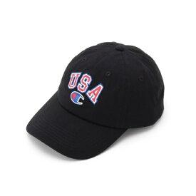 チャンピオン USA刺繍 ローキャップ/ベース ステーション(メンズ)(BASE STATION Mens)