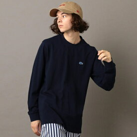 《made in Japan》LACOSTE×SHIPS JET BLUE: 別注 カノコ 袖リブ /シップス ジェットブルー(SHIPS JET BLUE)