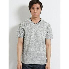ポップコーン Vネック半袖Tシャツ/m.f.エディトリアル(m.f.editorial)