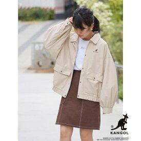 【WEB別注】KANGOLコラボ衿付きブルゾン/179/WG(179 WG)