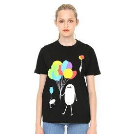 【ユニセックス】Tシャツ/バルーンビューティフルシャドー/グラニフ(graniph)