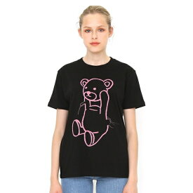 【ユニセックス】Tシャツ/ルーズスレッズコントロールベア/グラニフ(graniph)