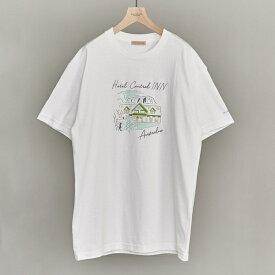 【別注】 <LES CINQ LETTRES.> HOTEL AUSTRALIA/Tシャツ/ビューティ&ユース ユナイテッドアローズ(メンズ)(BEAUTY&YOUTH)