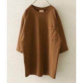 メンズTシャツ(Goodwear×DOORS 別注6分袖ポケットTシャツ)/アーバンリサーチ ドアーズ(メンズ)(URBAN RESEARCH DOORS)