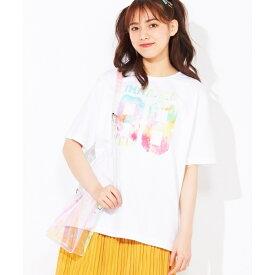 タイダイナンバリングTシャツ/ウィゴー(メンズ)(WEGO)