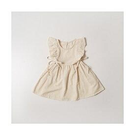 【KIDS】サイドリボン肩フリルワンピース(子供服/ノースリーブ/フレア)/コカ(キッズ)(coca)