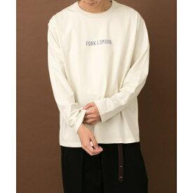 メンズTシャツ(FORK&SPOON プリントロングスリーブTシャツ)/アーバンリサーチ ドアーズ(メンズ)(URBAN RESEARCH DOORS)