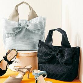 軽くて大きなリボンのバッグ/ジーラ バイ リュリュ(ファッション)(GeeRA (fashion))