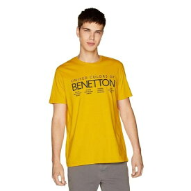 ロゴTシャツ・カットソー/ベネトン メンズ(UNITED COLORS OF BENETTON)