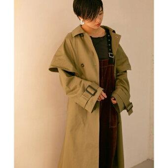 レディスコート(【予約】ケープトレンチコート)/KBF(KBF)
