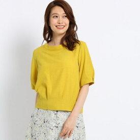 【洗える】ブッチャー裾タックブラウス/スーナウーナ(SunaUna)