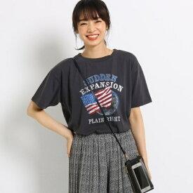 秋ロゴTシャツ/ザ ショップ ティーケー(レディス)(THE SHOP TK Ladies)