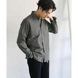メンズシャツ(ハイカウントチェックロングスリーブシャツ)/アーバンリサーチ ドアーズ(メンズ)(URBAN RESEARCH DOORS)