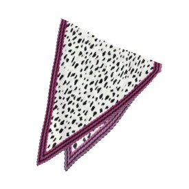 【WEB限定販売】casselini(キャセリーニ)プリーツアニマルスカーフ/クチュールブローチ(Couture Brooch)