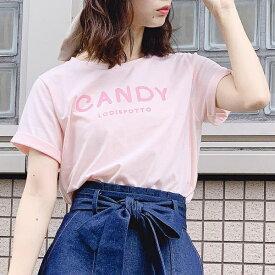 キャンディロゴ半袖Tシャツ / CANDY LODISPOTTO/ロディスポット(LODISPOTTO)