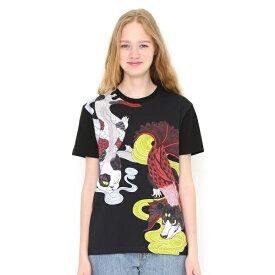 【ユニセックス】コラボレーションTシャツ/狗面魚猫面魚(石黒亜矢子)/グラニフ(graniph)