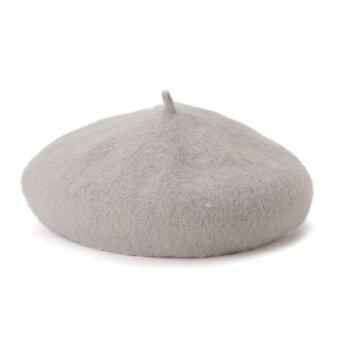 刺しゅうワンポイントベレー帽/プティマイン(petitmain)