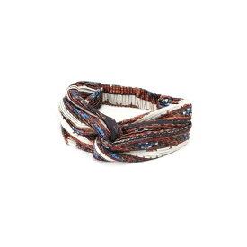 スカーフプリントヘアターバン/ローズバッド(ROSE BUD)
