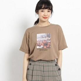 天竺秋フォトTシャツ/ザ ショップ ティーケー(レディス)(THE SHOP TK Ladies)